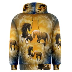 Wonderful Horses Men s Pullover Hoodies