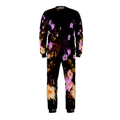 Awesome Flowers With Fire And Flame OnePiece Jumpsuit (Kids)