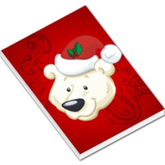 Funny Polar Bear Large Memo Pads