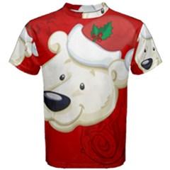Funny Polar Bear Men s Cotton Tees