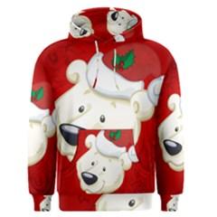 Funny Polar Bear Men s Pullover Hoodies