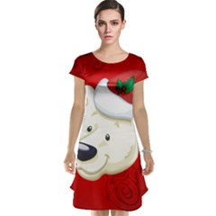 Funny Polar Bear Cap Sleeve Nightdresses
