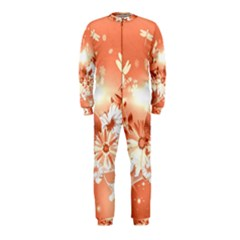 Amazing Flowers With Dragonflies OnePiece Jumpsuit (Kids)