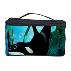 Orca Swimming In A Fantasy World Cosmetic Storage Cases