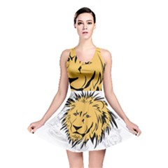 Lion Reversible Skater Dresses