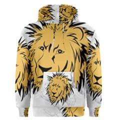 Lion Men s Pullover Hoodies