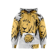 Lion Kids Zipper Hoodies