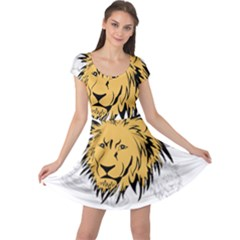 Lion Cap Sleeve Dresses