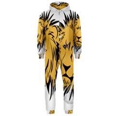 Lion Hooded Jumpsuit (Men)