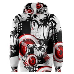 music, speaker Men s Pullover Hoodies