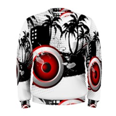 music, speaker Men s Sweatshirts