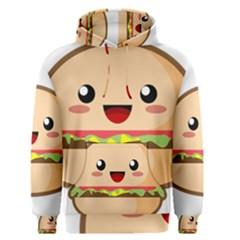 Kawaii Burger Men s Pullover Hoodies