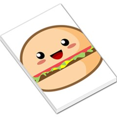 Kawaii Burger Large Memo Pads