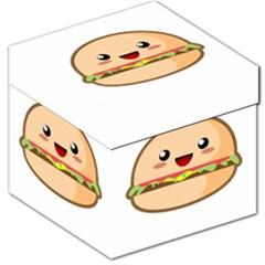 Kawaii Burger Storage Stool 12