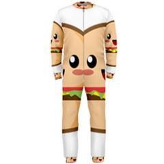Kawaii Burger OnePiece Jumpsuit (Men)