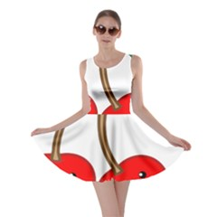 Kawaii Cherry Skater Dresses