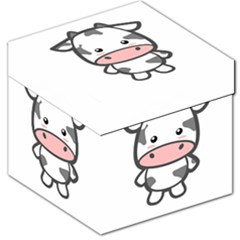 Kawaii Cow Storage Stool 12
