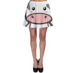 Kawaii Cow Skater Skirts