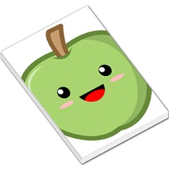 Kawaii Green Apple Large Memo Pads