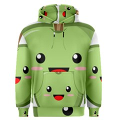 Kawaii Green Apple Men s Pullover Hoodies