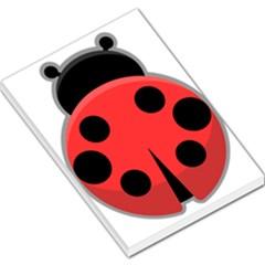 Kawaii Ladybug Large Memo Pads