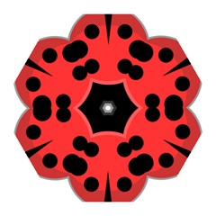 Kawaii Ladybug Mini Folding Umbrellas