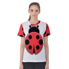 Kawaii Ladybug Women s Cotton Tees