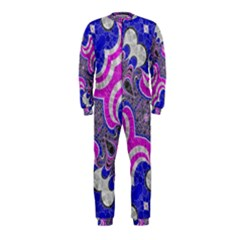 Pink Black Blue Abstract  OnePiece Jumpsuit (Kids)