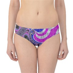 Pink Black Blue Abstract  Hipster Bikini Bottoms