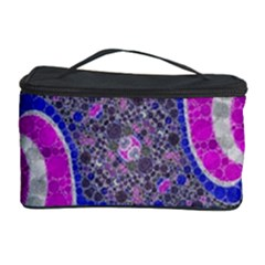 Beautiful Blue Black Abstract  Cosmetic Storage Cases