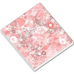 Lovely Allover Ring Shapes Flowers Small Memo Pads