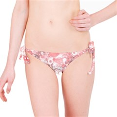 Lovely Allover Ring Shapes Flowers Bikini Bottoms
