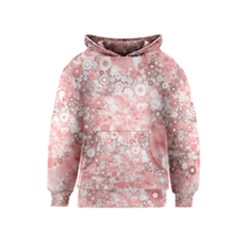 Lovely Allover Ring Shapes Flowers Kid s Pullover Hoodies