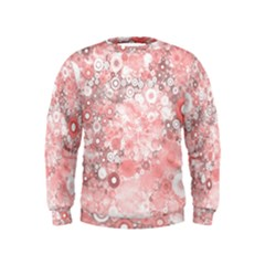 Lovely Allover Ring Shapes Flowers Boys  Sweatshirts