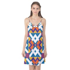 Shapes in rectangles pattern Camis Nightgown