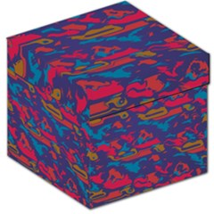 Chaos in retro colors Storage Stool