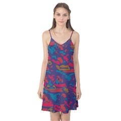 Chaos in retro colors Camis Nightgown
