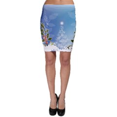 Christmas Tree Bodycon Skirts