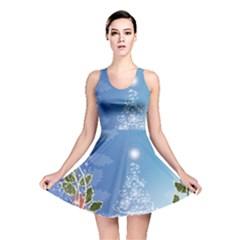 Christmas Tree Reversible Skater Dresses