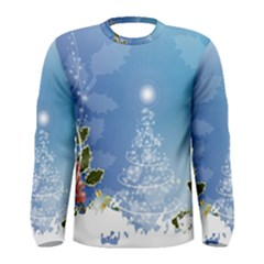 Christmas Tree Men s Long Sleeve T Shirts