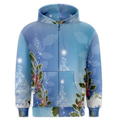 Christmas Tree Men s Zipper Hoodies