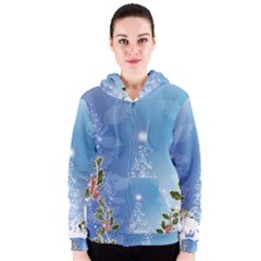 Christmas Tree Women s Zipper Hoodies