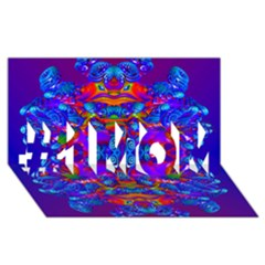 Abstract 4 #1 Mom 3d Greeting Cards (8x4)