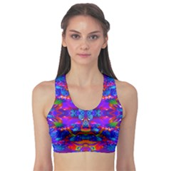 Abstract 4 Sports Bra
