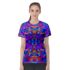Abstract 4 Women s Sport Mesh Tees