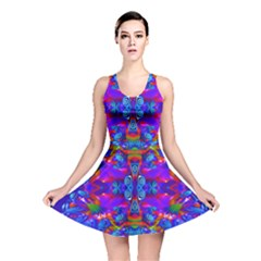 Abstract 4 Reversible Skater Dresses