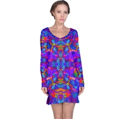 Abstract 4 Long Sleeve Nightdresses