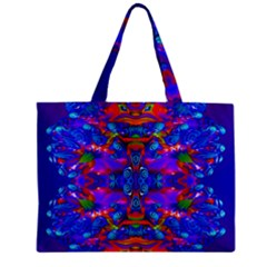 Abstract 4 Zipper Tiny Tote Bags