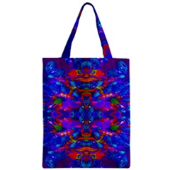 Abstract 4 Zipper Classic Tote Bags