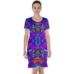 Abstract 4 Short Sleeve Nightdresses
